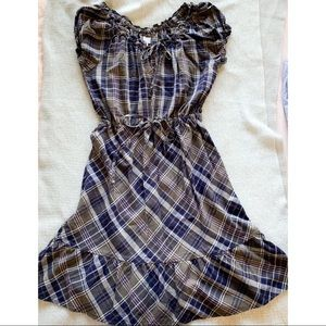 Converse All Star Plaid Dress